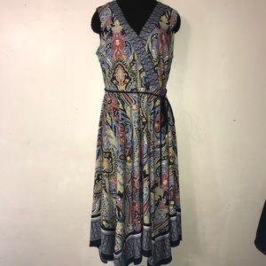 Sandra Darren asymmetrical dress 10